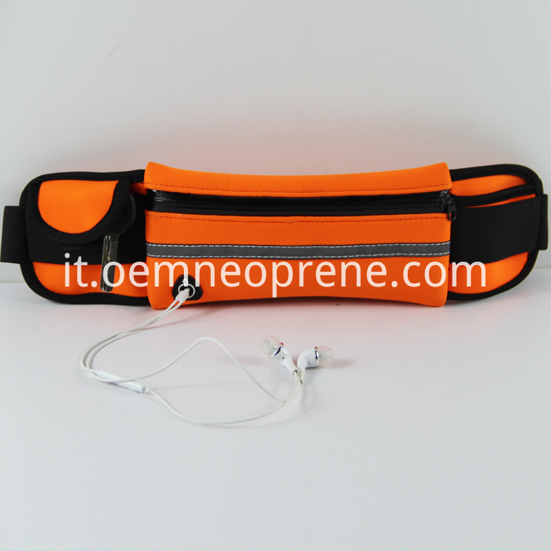 Running Belts with Reflective Strip