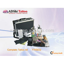 2013 ADShi factory direct selling professional complate tattoo kits