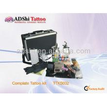2013 ADShi venda direta da fábrica kits profissionais do tattoo do complate