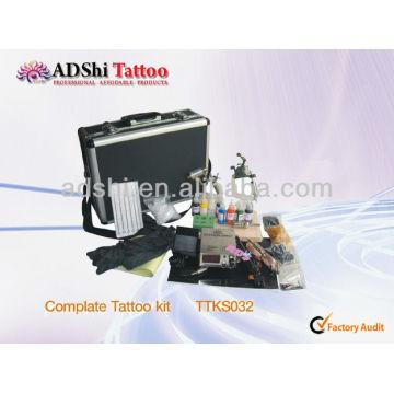 2013, usine d'ADShi, vente directe, kits de tatouage professionnels complétés