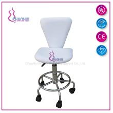 Salon stool chair with wheel
