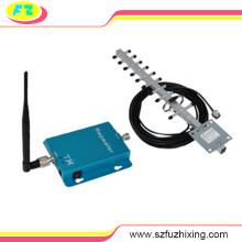 2100MHz 62dB 3G repetidor de señal móvil con antena Whip interna y antena Yagi externa