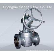 Válvula de enchufe de alta presión lubricada invertida