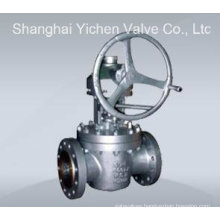 Inverted Lubricated High Pressure Plug Valve