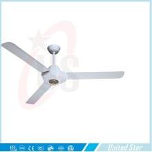 United Star Ventilateur de plafond en métal de 56 po en métal (USCF-164) avec CE / RoHS