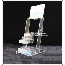 Customized retail acrylic counter display stand rack