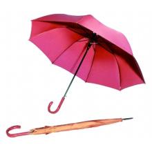 Auto aberto cor pura guarda-chuva reto (BD-19)