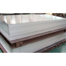 Tôle d'aluminium en stock