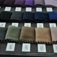 Regular stock velour fabric wholesale for clothing