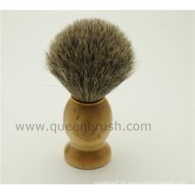 Cepillo de afeitar para cabello de bambú