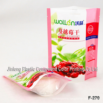 Clear Stand up Food Packaging Bag