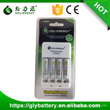 Geilienergy Brand GLE-C702 NIMH/NICD AAA AA 2.4V Battery Charger