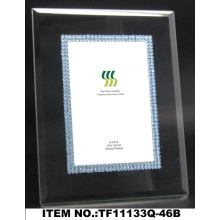 Black Acrylic Glass Photo Frame