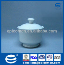 table ware ceramic whiteware porcelain round sugar pot