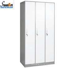 2018 heißer Verkauf 3 Tür moderne Stahl Almirah Designs in Luoyang gemacht