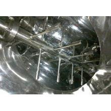 Mezclador de la serie de 2017 V, secador de vacío cónico de los SS, mezclador horizontal de la cinta mezclador