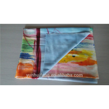 Mongolian soft and light hand painting cashmere scarf