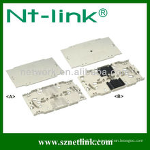12/24 Bandeja empotrada de panel de conexión de fibra óptica central