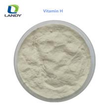 VENTE CHAUDE Chine fiable fournisseur alimentation grade 2% vitamine H biotine VH