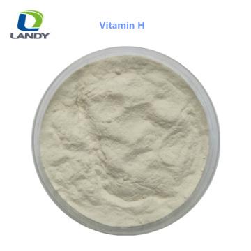 VENTA CALIENTE China Fabricante confiable Grado 2% Vitamina H Biotina VH