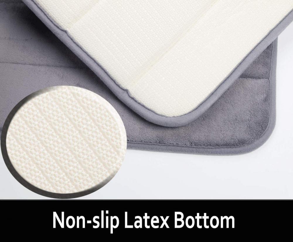 Purple Memory Foam Bath Mat