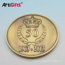 Подгонять дешевые милая свадебные наименований золотых антиква латунь пустой монет