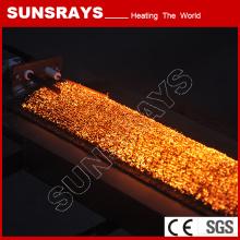 Haute pression gaz brûleur de fibre métallique
