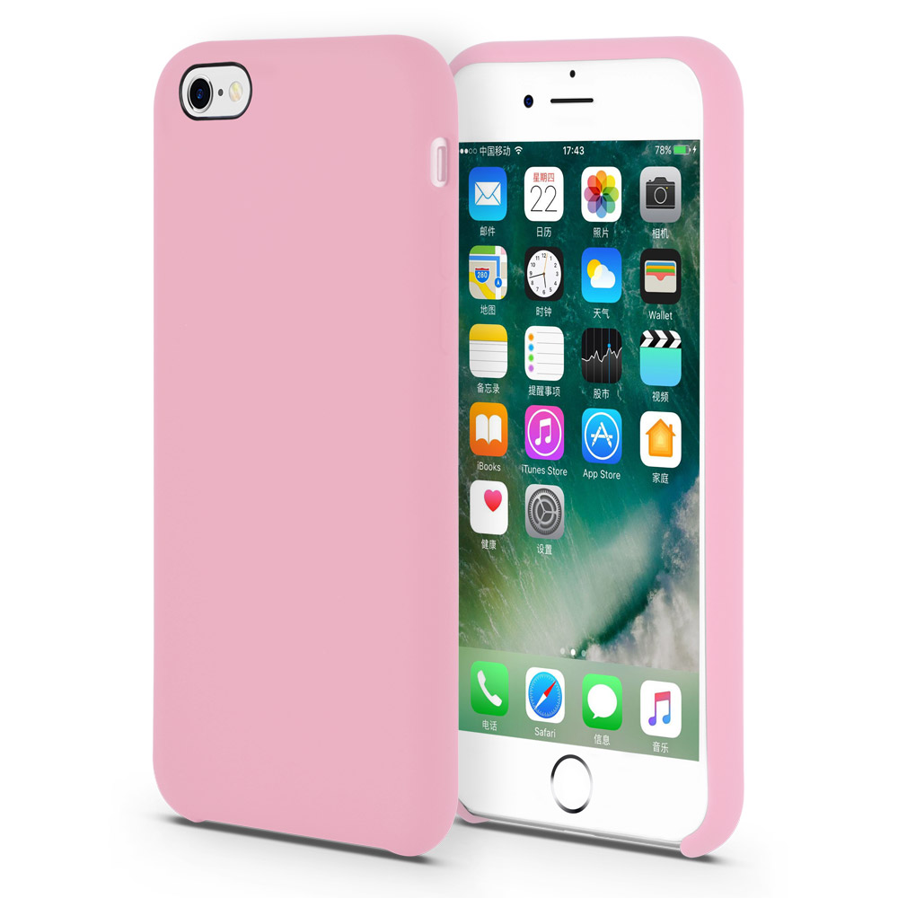 Liquid Silicone Iphone 6s Plus Case
