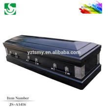 JS-A1416 luxury cardboard American casket factory