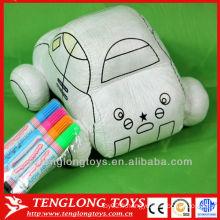 Jouets de bricolage intelligents jouets en tissu de peinture