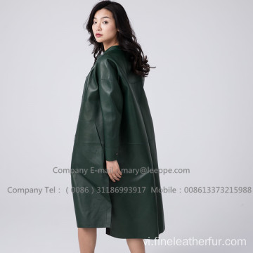 Lady Patent Leather Longcoat
