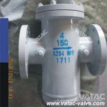 Filtro de la cesta de la cesta del filtro del cuerpo Ss316L del acero de carbono 150lb