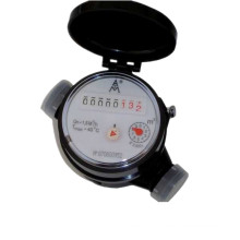 Single-Jet Dry-Dial Flowmeter/Water Meter with with Eight Number Wheels