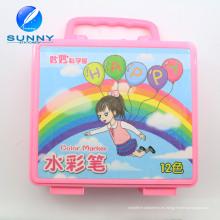 Marcador multi modificado para requisitos particulares del dibujo del arte del rotulador del color de agua para los niños