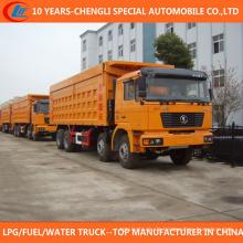 China 8X4 Kipper LKW 30t 35t Muldenkipper zum Verkauf