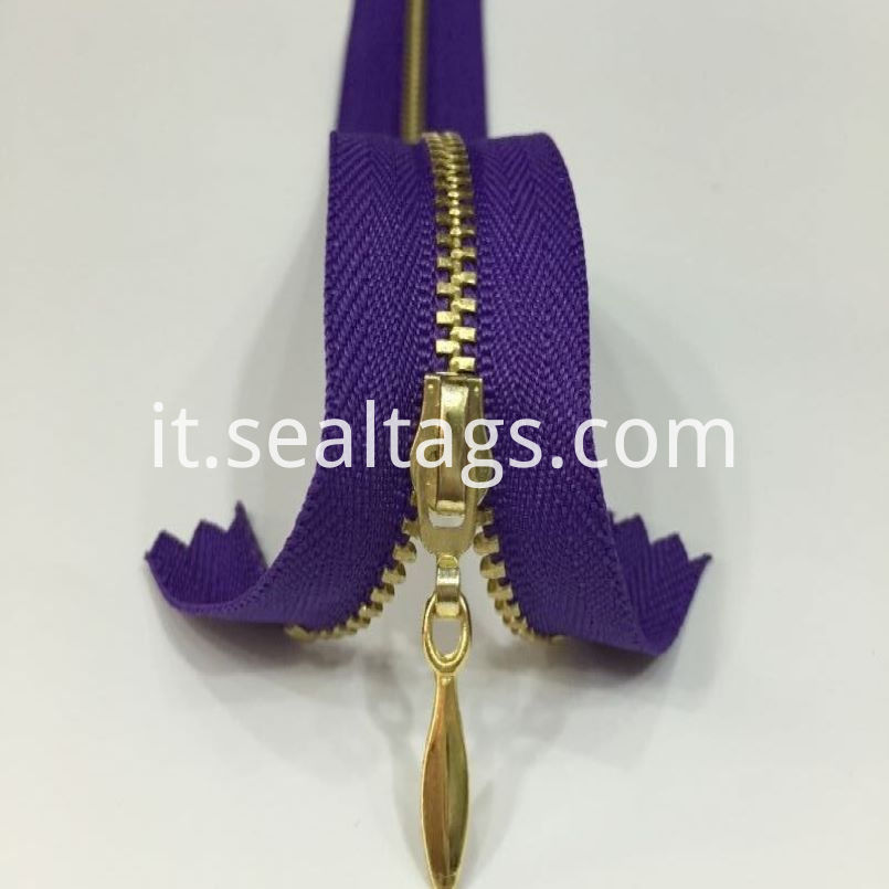 Colorful Waterproof Zipper