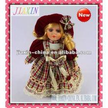 Muñecas japonesas antiguas lindas de la porcelana de la venta al por mayor con mejores ventas de la muñeca