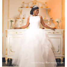 China Zhongshan Weinlese-Spitze-Hochzeits-Kleid-Brautkleid
