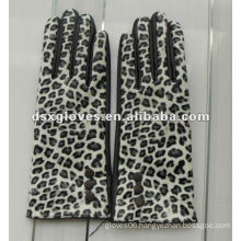 PU leather touch screen gloves
