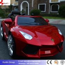 Plástico del coche eléctrico del bebé con batería y control remoto del motor en el precio barato hecho en Hebei China