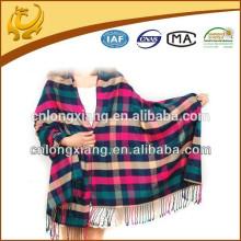 Moda Mulheres Longo Jacquard Lenço Embalar Senhoras Shawl Meninas Lenços de seda grandes