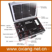 Солнечный генератор для RV кемпинг и открытый местах