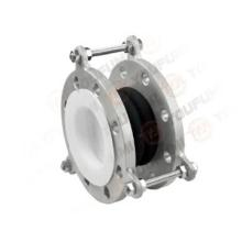 Stainless steel PTFE lined Rubber compound expansion joint