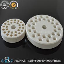 Plaque de brûleur en céramique réfractaire industrielle d'alumine 99