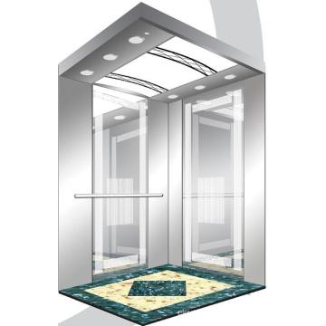Aksen Mirror Etched Machine Room Passenger Elevator J0334