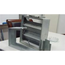 Válvula de remoção de fumo galvanizado Roll formando fabricante de linha na Rússia