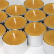 Beeswax tealight candles 100% pure nature candles