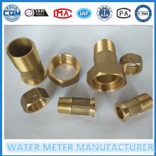 Stecker und Messing Material Wasserzähler Rohrverschraubung
