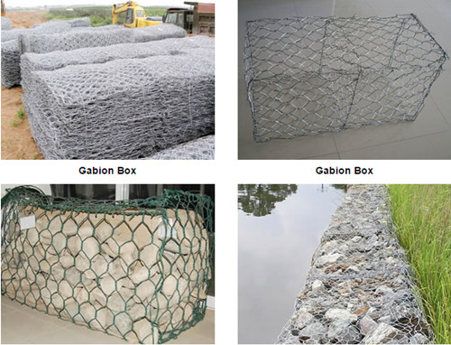 High Quality PVC Coated Hexagonal Gabion Box