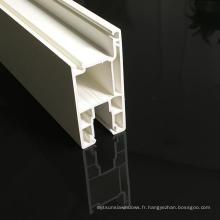 Profils Upvc pour fenêtre coulissante en PVC